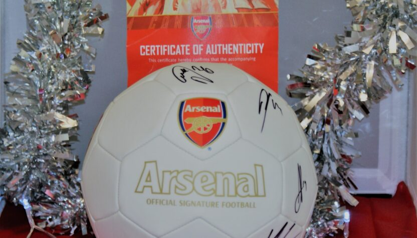 signed arsenal football