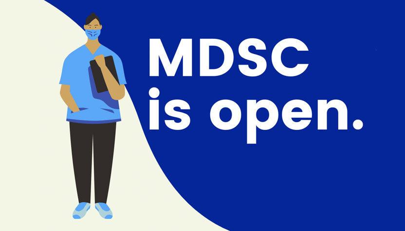 MDSC is Open